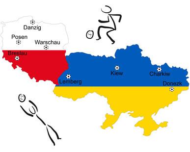 Fussball Europameisterschaft 2012 Polen/Ukraine
