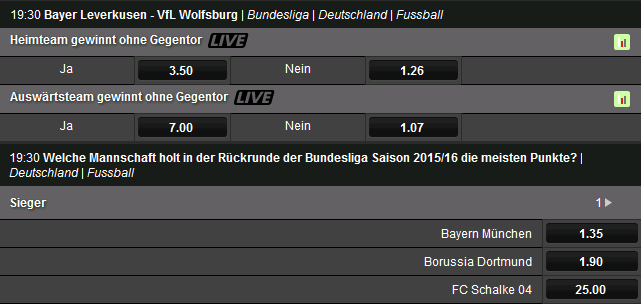 Betsafe Bundesliga Wetten