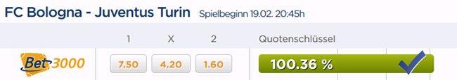 bet3000-quotenschluessel-ueber-100-prozent