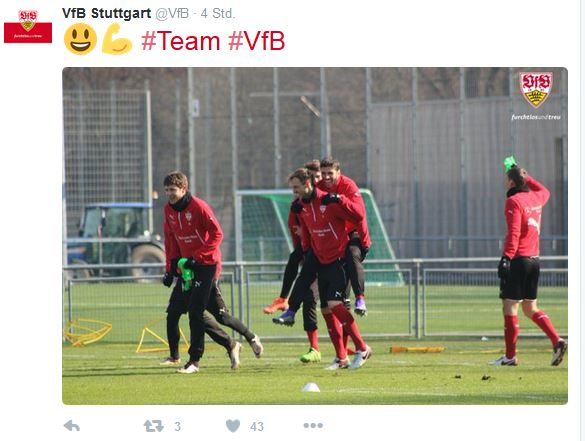 Stuttgart Training Twitter