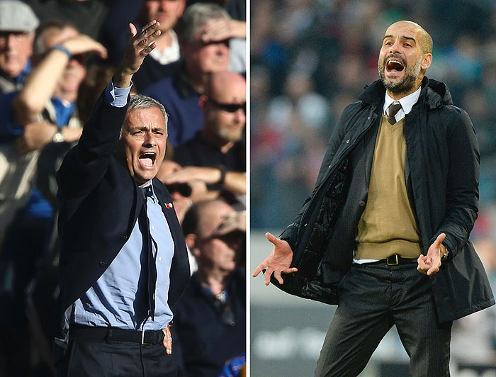 20160908_PD5932 (RM) Mourinho Guardiola Photocredit NIGEL TREBLIN, JUSTIN TALLIS / AFP / picturedesk.com