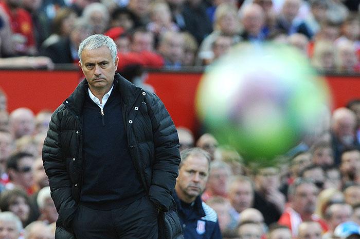 20161002_PD8402 (RM) Jose Mourinho Manchester United Rui Vieira / AP / picturedesk.com