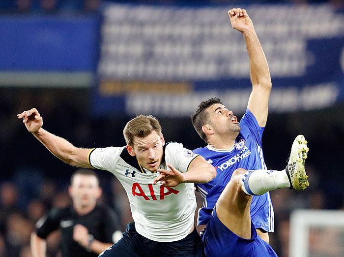 20161126_PD7217 (RM) Chelsea Diego Costa Tottenham Jan Vertonghen © Frank Augstein / AP / picturedesk.com