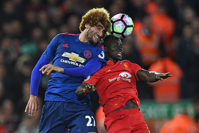 20161017_PD4930 (RM) Fellaini United Mane Liverpool PAUL ELLIS / AFP / picturedesk.com