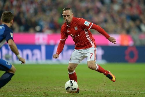 Franck Ribery - Andreas Gebert / dpa / picturedesk.com - 20160921_PD12488 (RM)