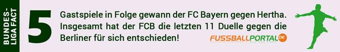 Hertha - Bayern München Fakt
