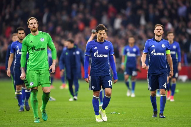 Schalke gegen Ajax / PATRIK STOLLARZ / AFP / picturedesk.com