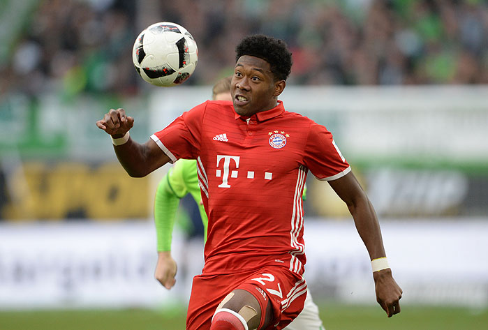 20170429_PD14408 (RM) David Alaba FC Bayern © Jan Kuppert / dpa Picture Alliance / picturedesk.com