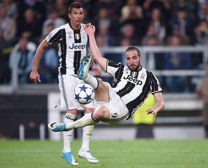 20170509_PD8392 (RM) Higuain Juventus Turin © FILIPPO MONTEFORTE / AFP / picturedesk.com