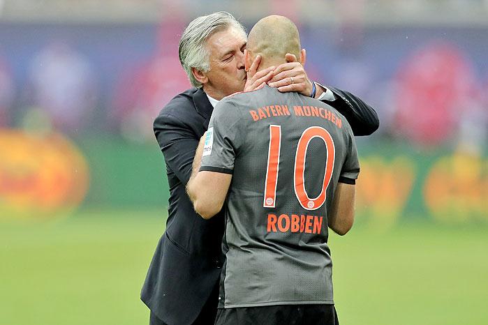 20170513_PD3728 (RM) Ancelotti Robben FC Bayern © Jan Woitas / dpa / picturedesk.com