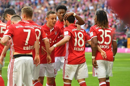 FC Bayern, Juan Bernat - credits: Frank Hoermann / dpa Picture Alliance / picturedesk.com