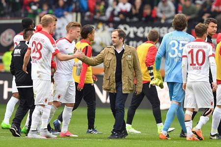 20170415_PD9432 (RM) Manuel Baum FC Augsburg © Frank Hoermann / dpa Picture Alliance