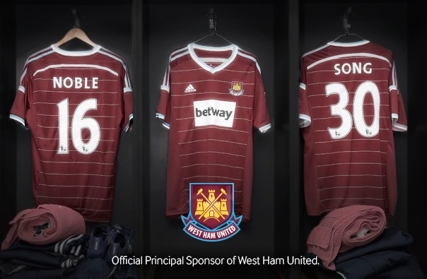 Betway und West Ham United