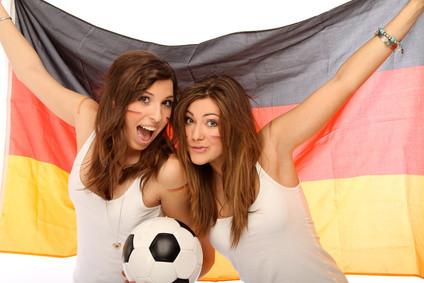Die Fans drücken Deutschland die Daumen