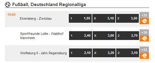 Expekt Regionalliga Wetten