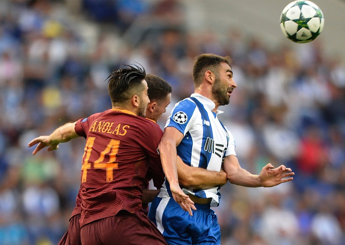 Roma Porto: Champions League Playoff 16/17: AS Rom