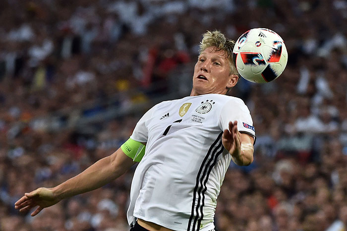20160707_PD7510 (RM) Bastian Schweinsteiger EM 2016 BERTRAND LANGLOIS / AFP / picturedesk.com