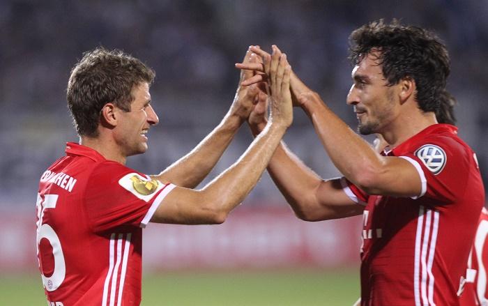 Bayern München DFB Pokal 2016 PHOTO: SEBASTIAN WILLNOW/dpa - 20160819_PD16243