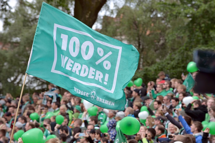 20160514_PD2396 (RM) Werder Bremen Carmen Jaspersen / dpa / picturedesk.com