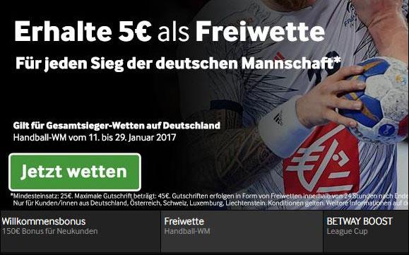 Betway-Handball-Freiwette