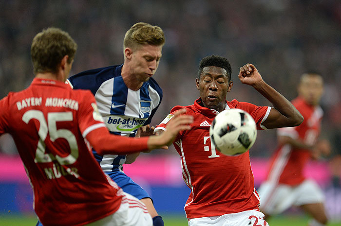 20160921_PD12368 (RM) David Alaba Mitchell Weiser © Andreas Gebert / dpa / picturedesk.com