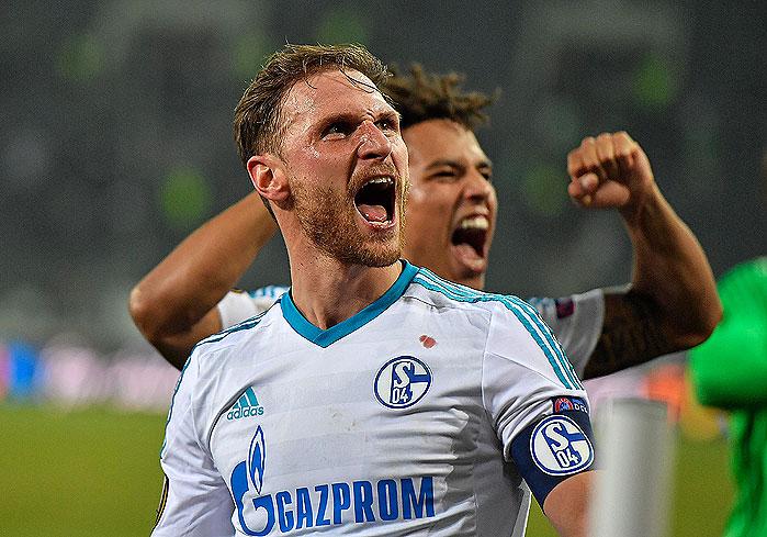 20170316_PD8335 (RM) Schalke Benedikt Hoewedes © Martin Meissner / AP / picturedesk.com