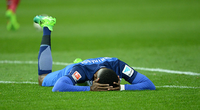 20170331_PD11704 (RM) Salomon Kalou Hertha BSC © Jan Kuppert / dpa Picture Alliance / picturedesk.com