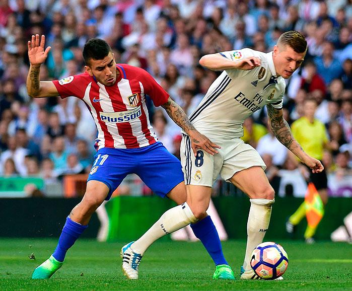 20170408_PD4372 (RM) Correa Atletico Toni Kroos Real Madrid © GERARD JULIEN / AFP / picturedesk.com
