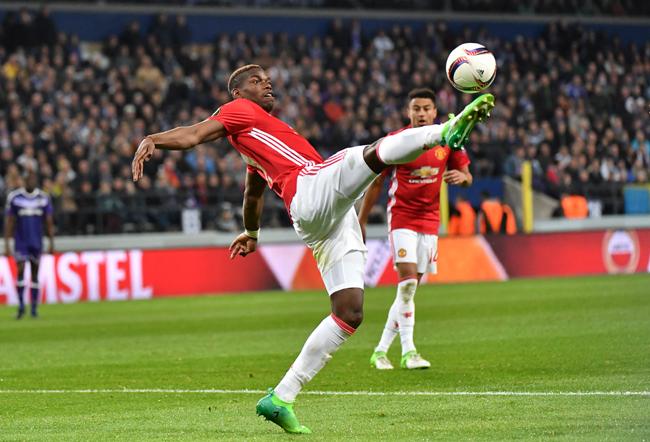 Paul Pogba Manchester United Geert Vanden Wijngaert / AP / picturedesk.com