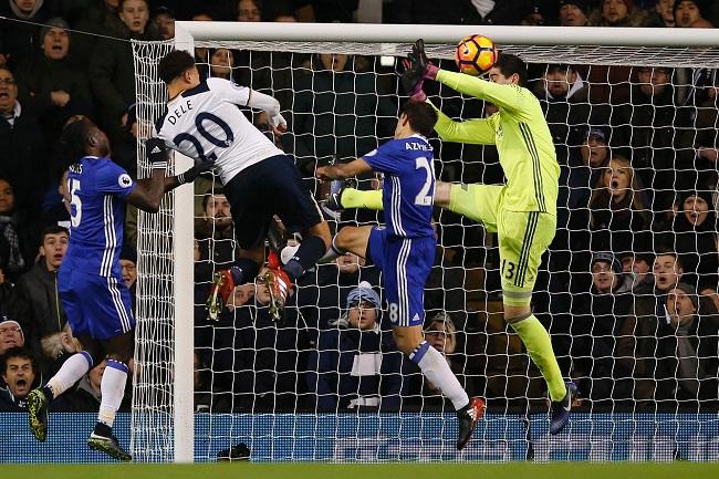 Dele Alli 2:0 gegen Chelsea - © ADRIAN DENNIS / AFP / picturedesk.com