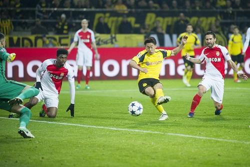 Shinji Kagawa vs Monaco - credits: Elmar Kremser / dpa Picture Alliance / picturedesk.com