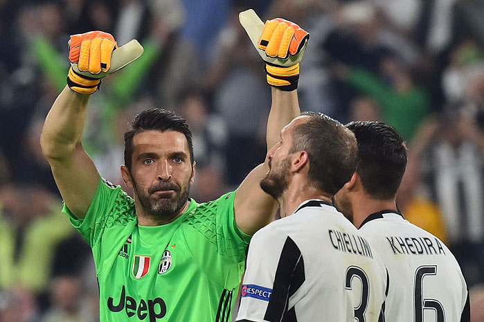 20170411_PD5846 (RM) Gianluigi Buffon Juventus Turin © GIUSEPPE CACACE / AFP / picturedesk.com