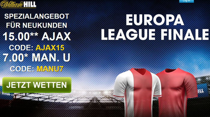 William Hill Quotenboost Europa League Finale