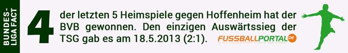 Fact Dortmund Hoffenheim