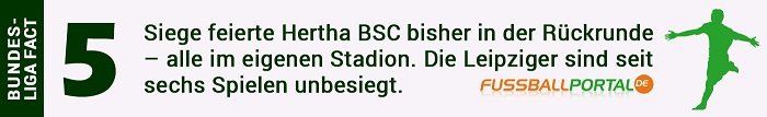Fact Hertha - Leipzig