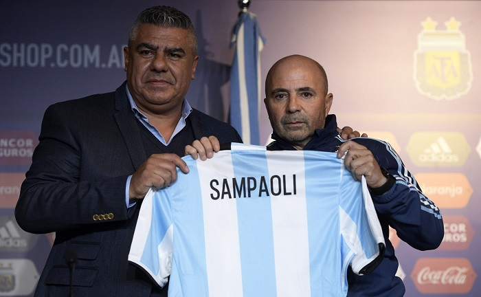20170601_PD7770 (RM) Sampaoli Argentinien JUAN MABROMATA / AFP / picturedesk.com