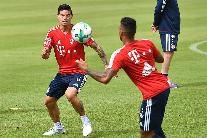 20170713_PD1806 (RM) James Rodriguez FC Bayern © Frank Hoermann / dpa Picture Alliance / picturedesk.com
