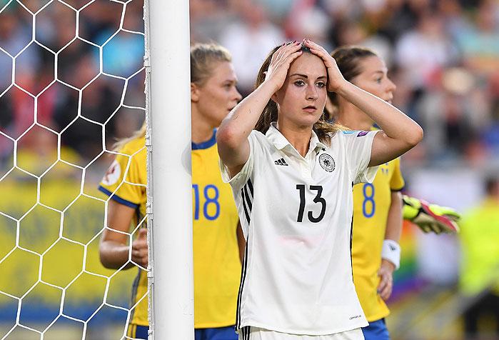 Bild Deutschland Schweden Frauen EM © Carmen Jaspersen / dpa / picturedesk.com