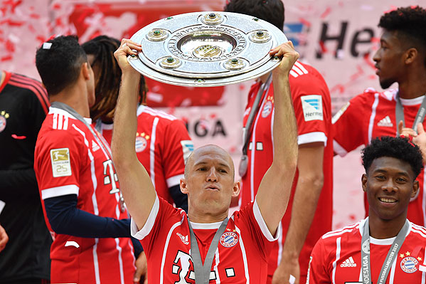 20170520_PD13255 (RM) FC Bayern Meister 2017 © Frank Hoermann / dpa Picture Alliance / picturedesk.com