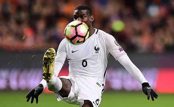 20161010_PD5815 (RM) Paul Pogba Frankreich © EMMANUEL DUNAND / AFP / picturedesk.com