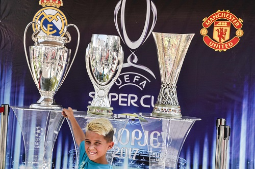 UEFA Super Cup 2017 Real Madrid vs Manchester United - credits: ARMEND NIMANI / AFP / picturedesk.com