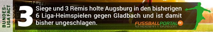 Fact Augsburg - Gladbach