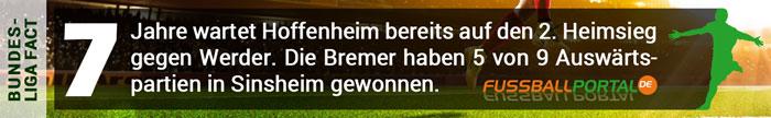 Facts Hoffenheim gegen Bremen