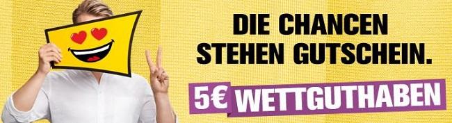 Interwetten Gutschein Bundesligastart 2017/18