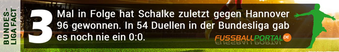 Facts Hannover Schalke