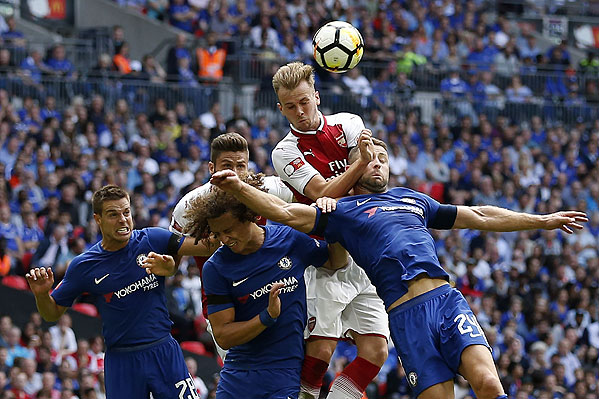 20170806_PD5708 (RM) Chelsea Arsenal © IAN KINGTON / AFP / picturedesk.com