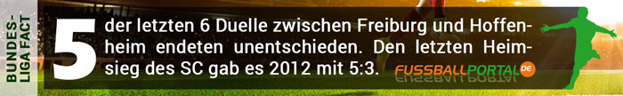 Fact Freiburg - Hoffenheim