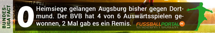 Fact Augsburg - Dortmund