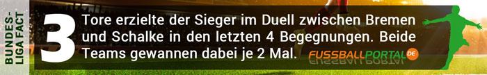 Fact Bremen - Schalke