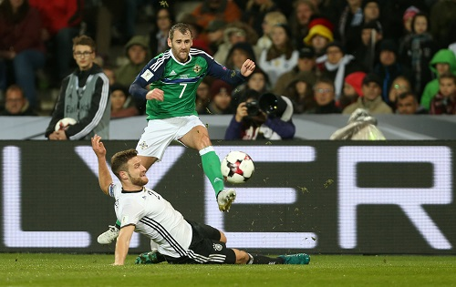 Shkodran Mustafi vs. Nordirland - credits: Friso Gentsch / dpa / picturedesk.com